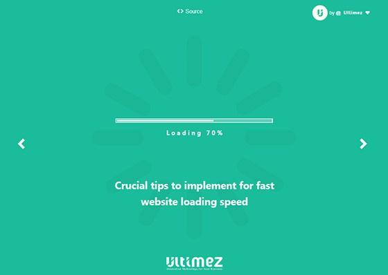 fast loading speed
